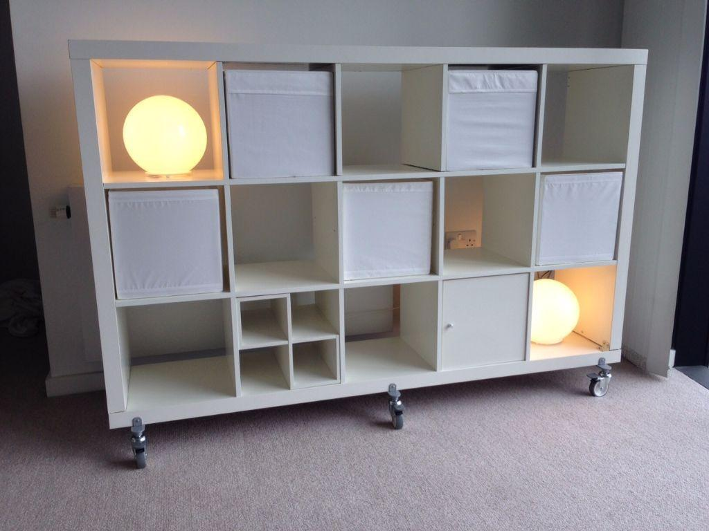 IKEA Expedit (now called Kallax) storage  shelving unit This used