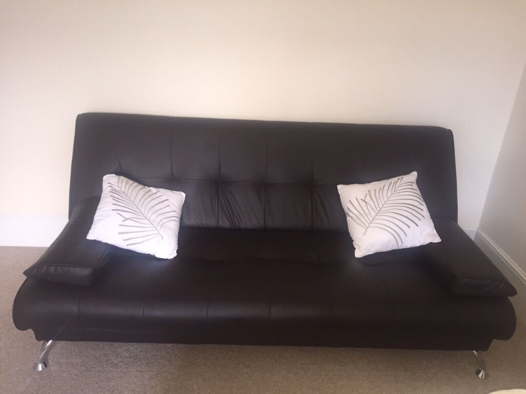 faux leather sofa sofa bed for sale united kingdom gumtree