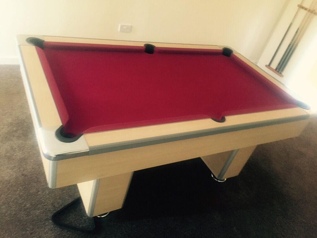 6ft 3ft Beech Pool Table Pub