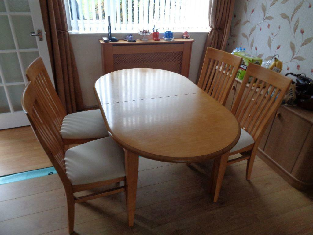 table and four chairs united kingdom gumtree