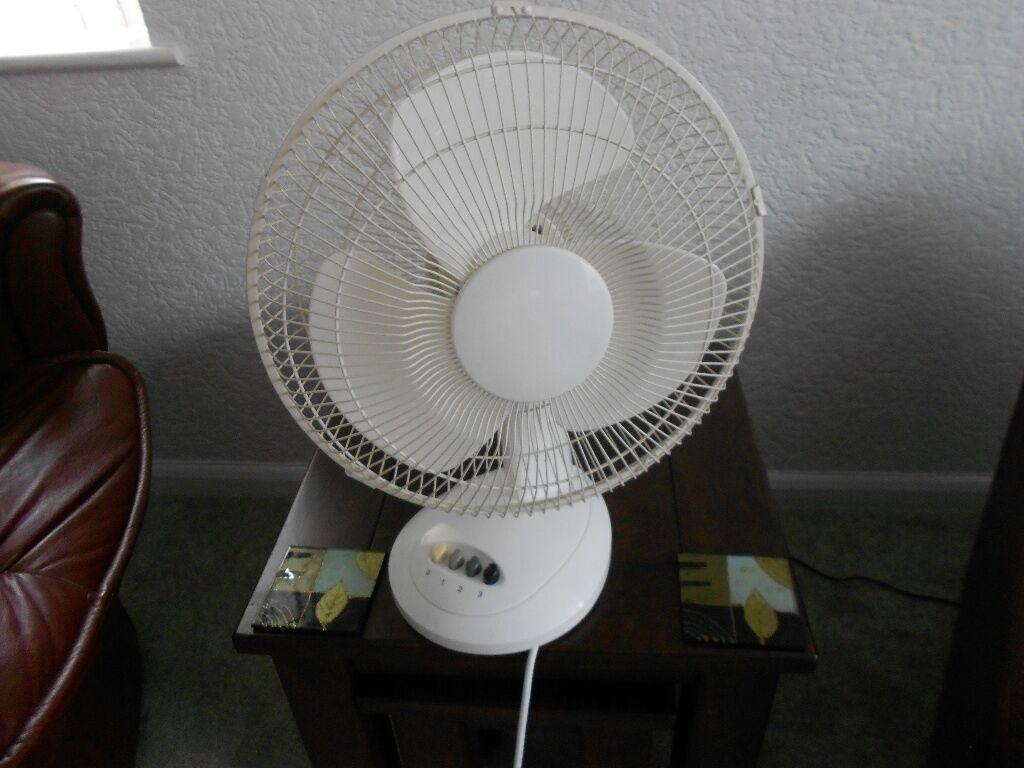 Gumtree Desk Fan : Electric fan oscillating buy sale and trade ads great