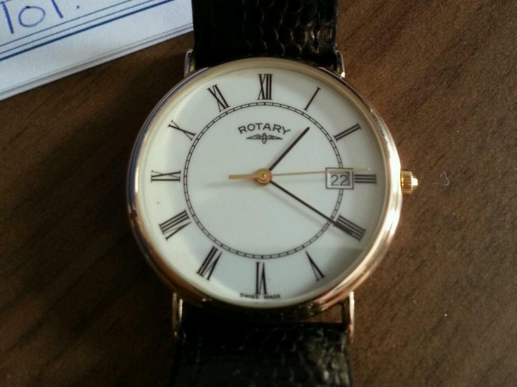 Rotary 9ct Gold Watch