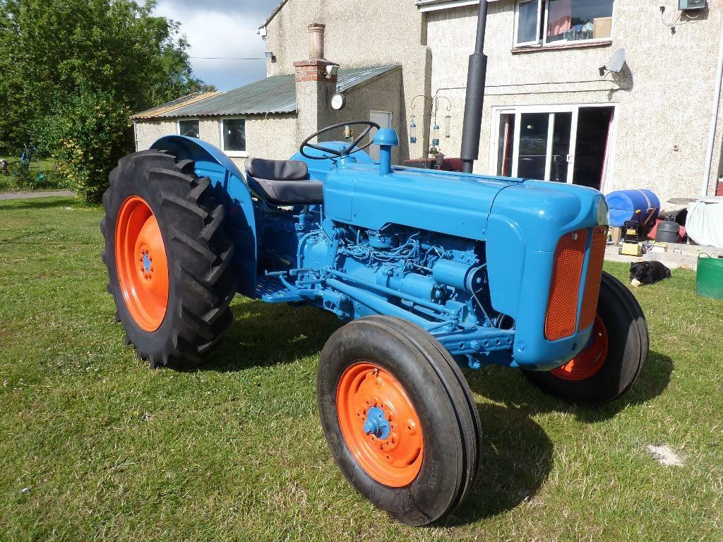 Ford Dexta Tractor : Fordson dexta tractor ready for work or show united