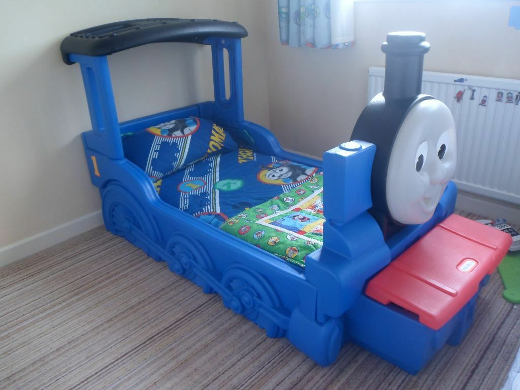 Thomas The Tank Single Bed Frame Toddler Bed Thomas The Tank
