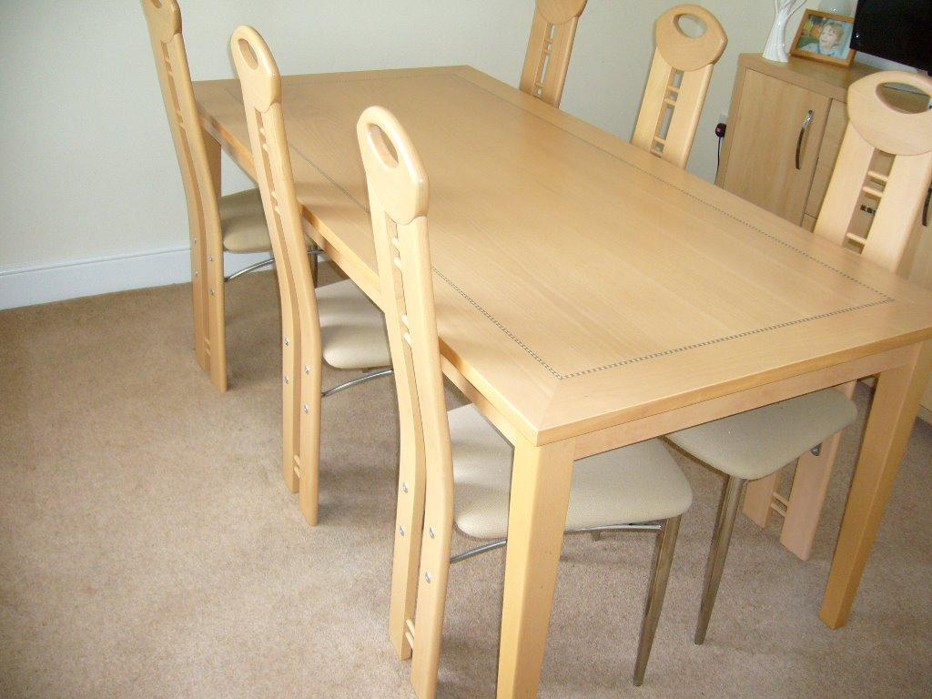dining table and 6 chairs for sale united kingdom gumtree