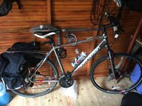 Boardman Bike for sale. Hybrid type with on off suspension front forks.