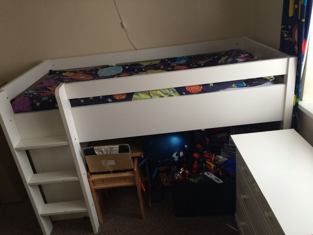 Next Cabin Bed with pact Storage & desk