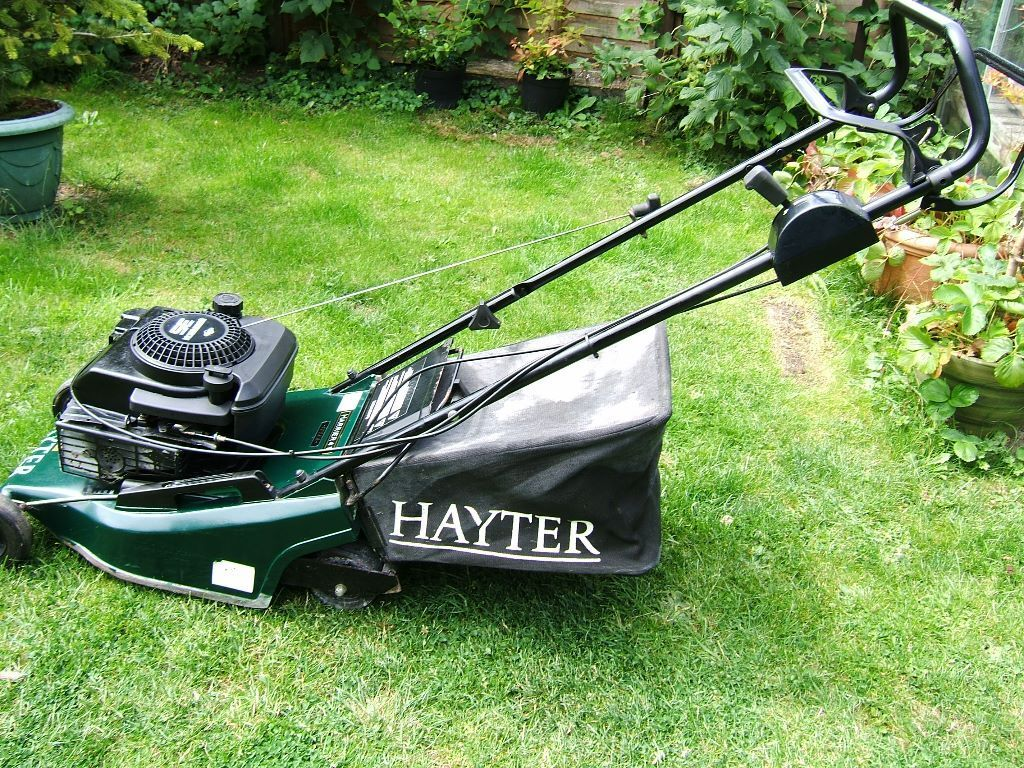 Hayter 41 petrol lawn mower this is my hayter 41 petrol for Gardening tools uckfield