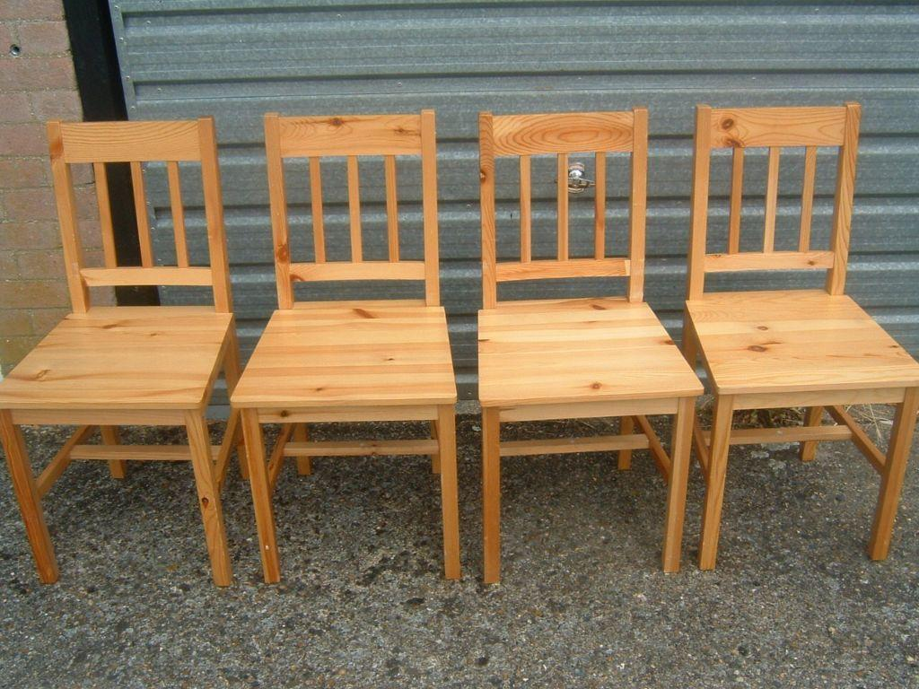 PINE TABLE AND 4 CHAIRS United Kingdom Gumtree