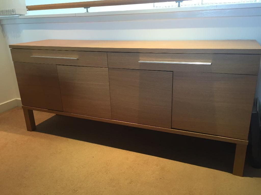 Wooden Console Table Sideboard Great For Hallway