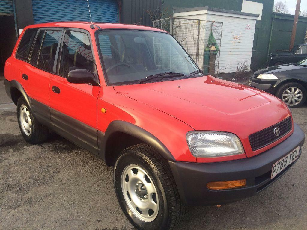 toyota rav 4 gx estate 2 0 1996 p reg 4x4 brand new mot. Black Bedroom Furniture Sets. Home Design Ideas