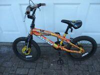 """Childs bike 10"""" frame. BMX Magna Blow Torch."""