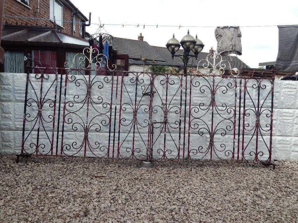 Wrought Iron Driveway Gates 1920s 1930s Gates Period