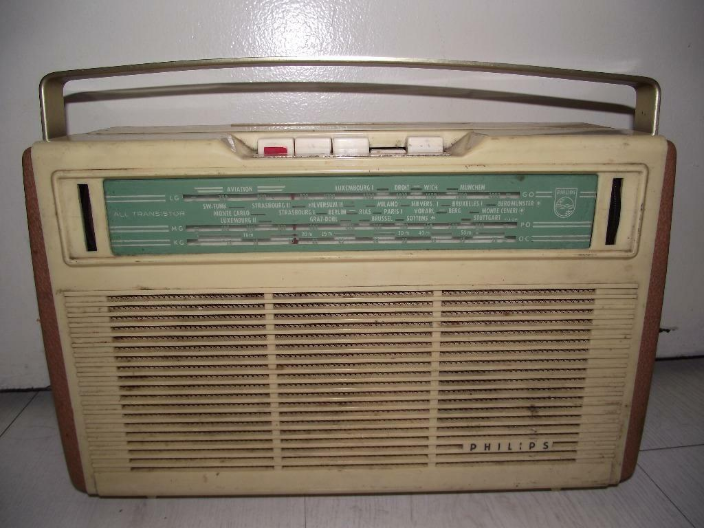 Radio 1950 Philips Radio-transistor 1950 s