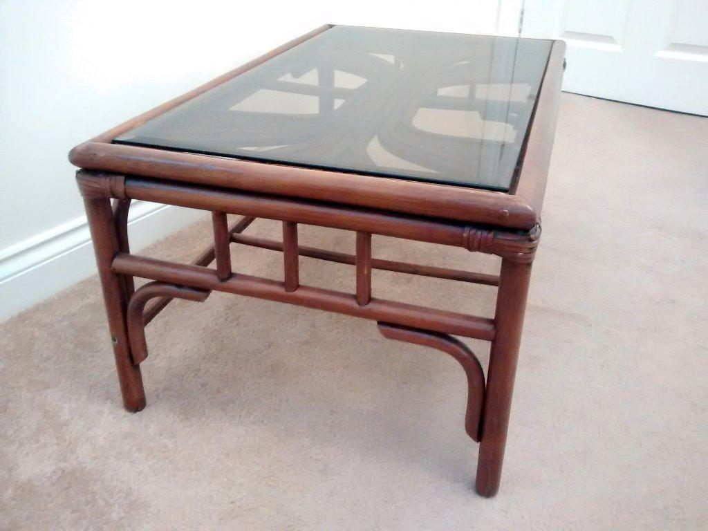 Bamboo coffee table united kingdom gumtree for Coffee tables gumtree