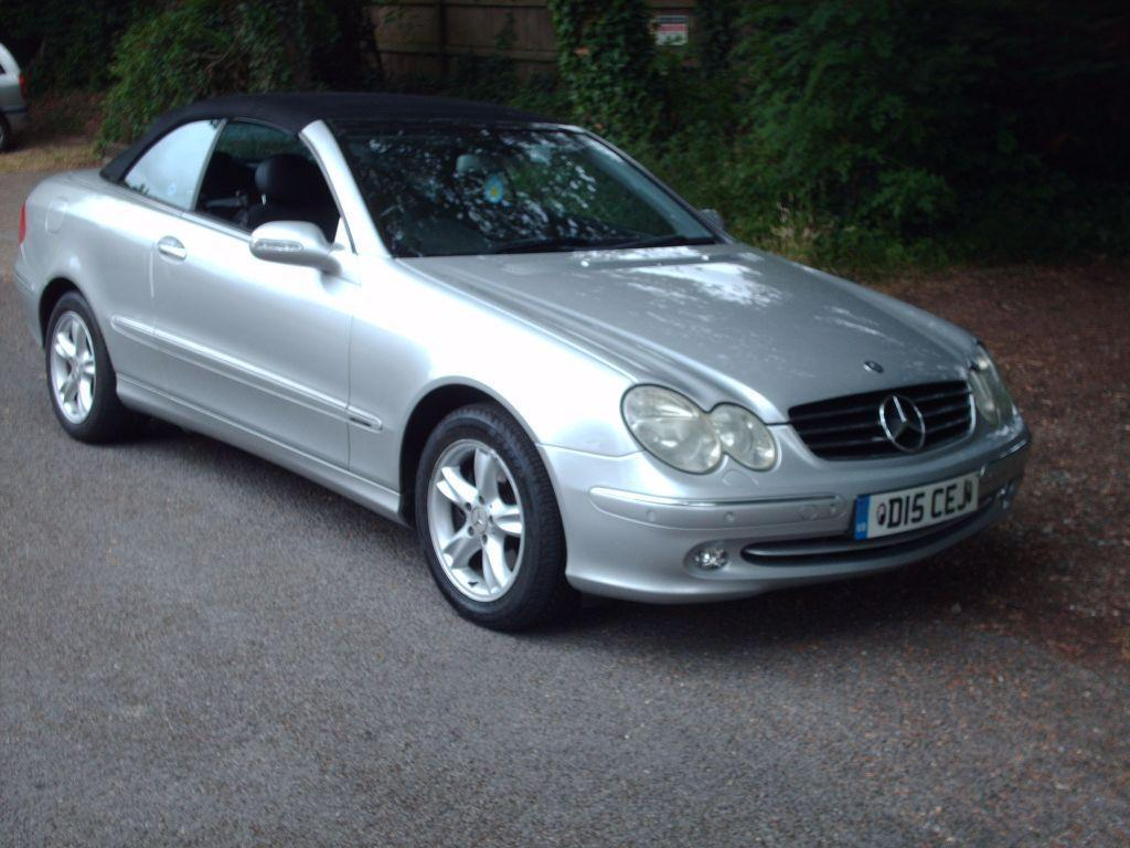 convertible mercedes clk 320 avantgarde 2004 united kingdom gumtree. Black Bedroom Furniture Sets. Home Design Ideas