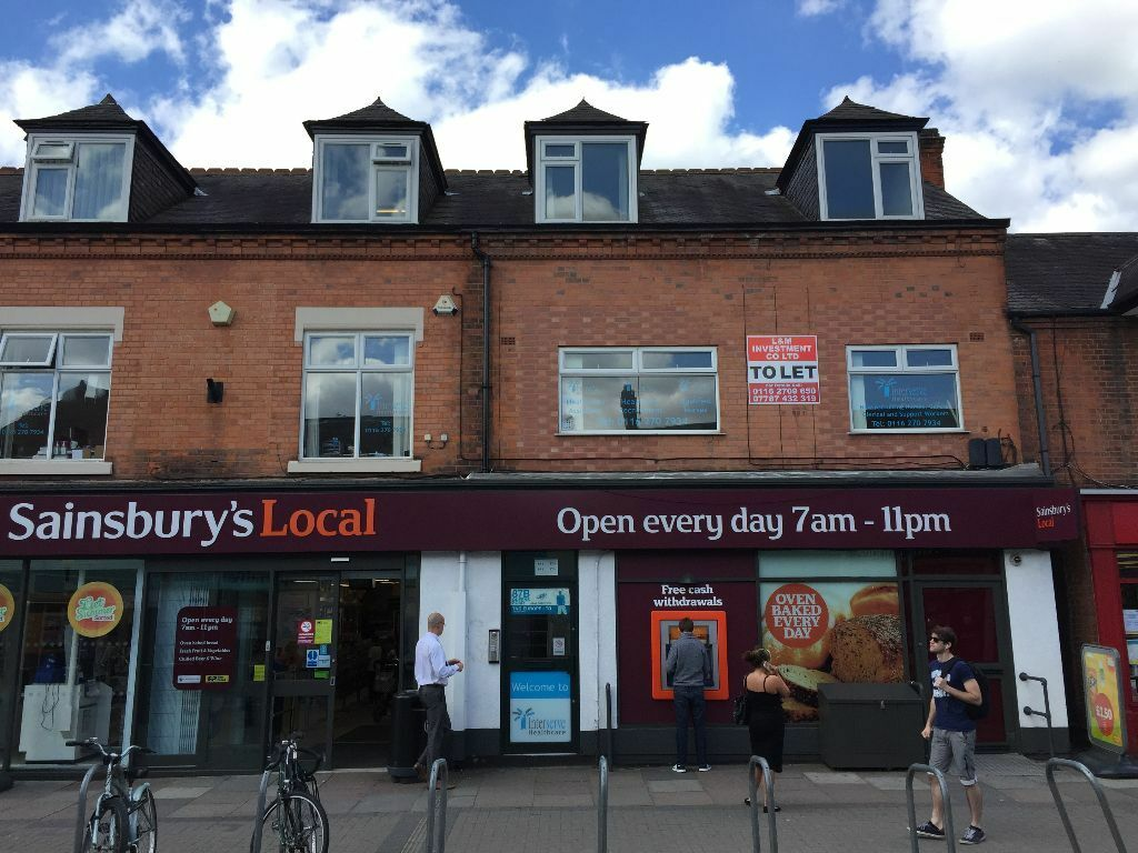 Knitting Queens Road Leicester : Superior air con offices to let in prime location on