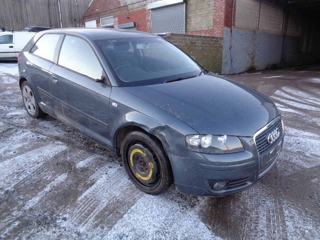 2006 audi a3 2 0 tdi sport 140 bhp 3 door hatchback grey very light salvage united kingdom. Black Bedroom Furniture Sets. Home Design Ideas