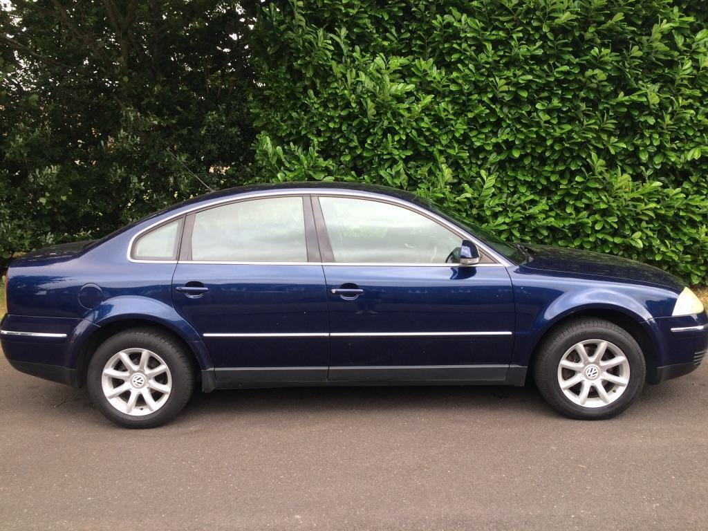 2004 volkswagen passat 1 9 tdi 4 door saloon diesel manual in blue united kingdom gumtree. Black Bedroom Furniture Sets. Home Design Ideas