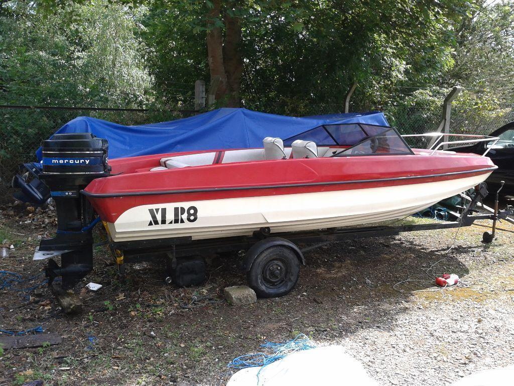 Fletcher ski boat in vgc 15ft 4 5mtrs 5 seater deep 39 v for Fishing jet ski for sale