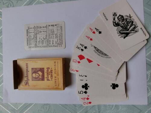 romme karten shakespeare playing cards in sachsen anhalt halle kunst und antiquit ten. Black Bedroom Furniture Sets. Home Design Ideas