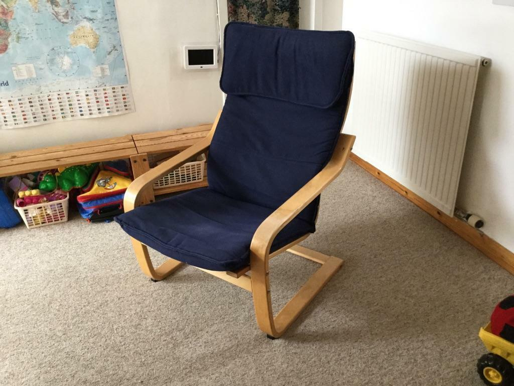 Ikea Aspelund Bedroom Furniture ~ IKEA Poang chair  United Kingdom  Gumtree