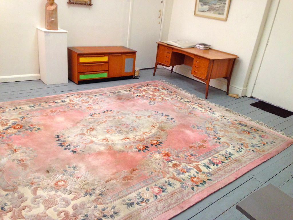 Huge Chinese Hand Knotted Deep Pile Rug Carpet Beautiful