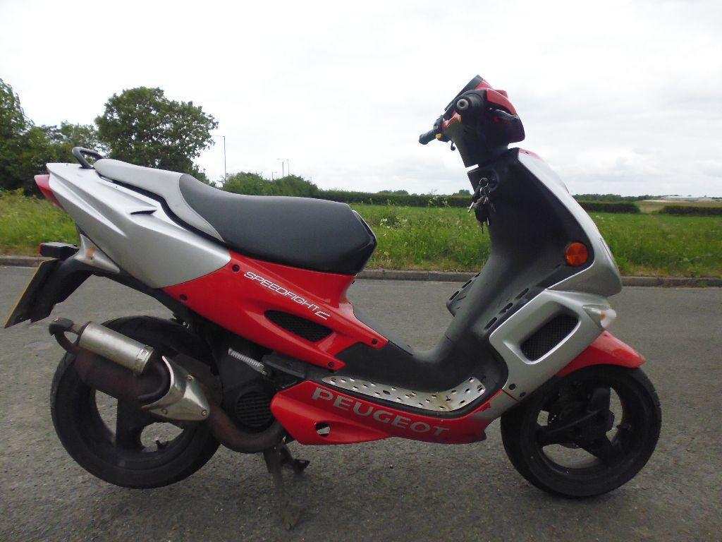 peugeot speedfight 2 50cc moped united kingdom gumtree. Black Bedroom Furniture Sets. Home Design Ideas