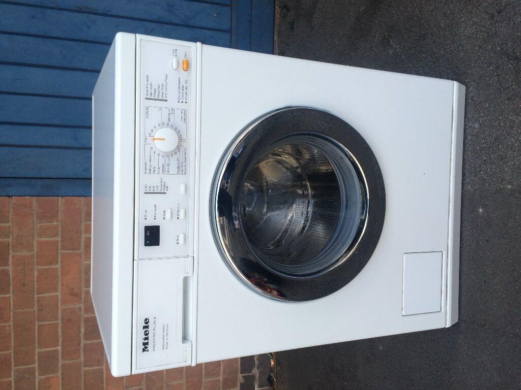 miele washing machine instructions
