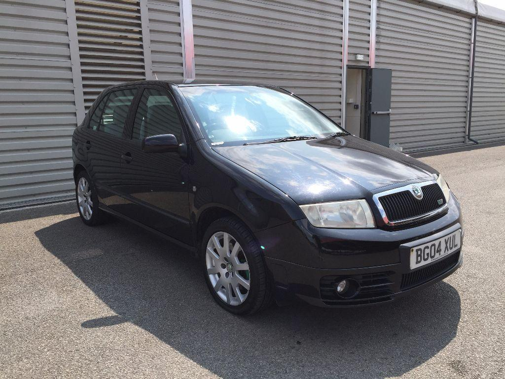 2004 skoda fabia vrs 1 9 tdi diesel 130 1 owner full service history new cambelt. Black Bedroom Furniture Sets. Home Design Ideas