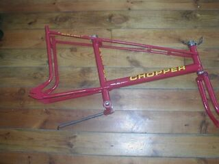 RALEIGH CHOPPER 1974 MK2 RESPRAYED FRAME IN RED EXCELLENT CONDITION