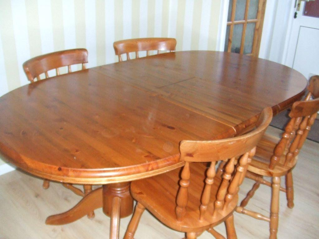 Extending Dining table with 4 chairs United Kingdom  : 86 from gumtree.com size 1024 x 768 jpeg 74kB