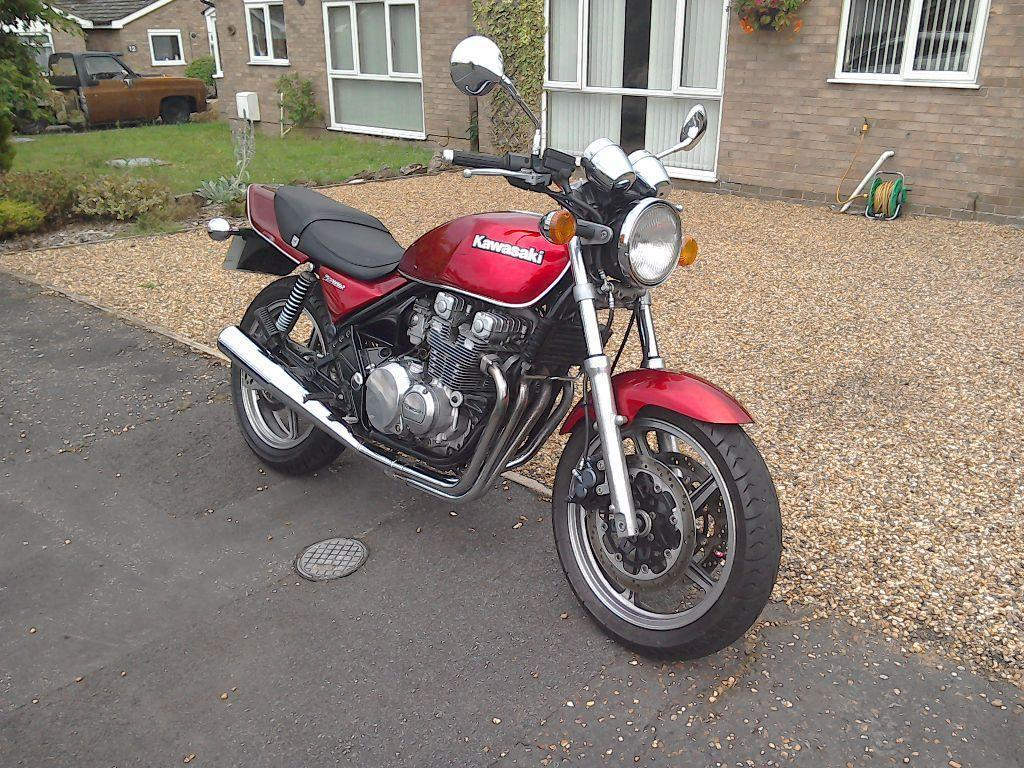 Diss United Kingdom  City new picture : Kawasaki 550 zephyr.12 months Mot, lovely colour.swap!!
