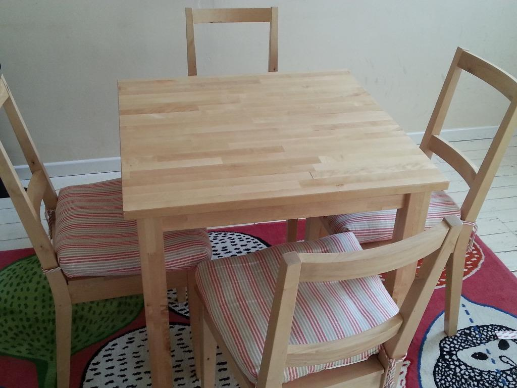 Ikea norden table and 4 Buy sale and trade ads great prices : 86 from dealry.co.uk size 1024 x 768 jpeg 86kB