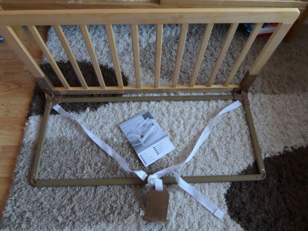 Baby Dan Bed Guard Baby Dan Wooden Bed Guard From