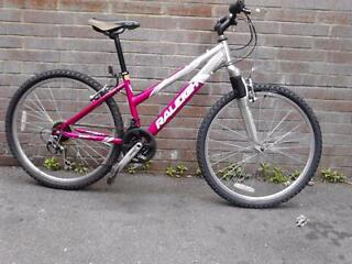 Womens Raliegh mountain bike bicycle 18 speed clean condition