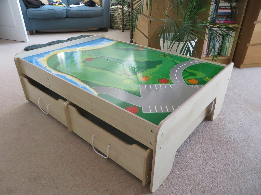 Childrens Play Table with storage Great Little Trading