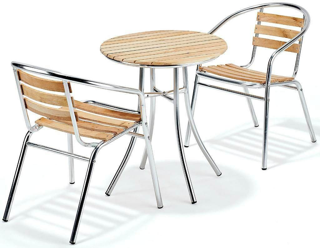 Cheap patio garden bistro table amp 2 chairs brand new