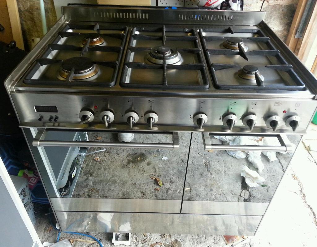 Delonghi Gas Oven Delonghi 90cm Dual Fuel Oven
