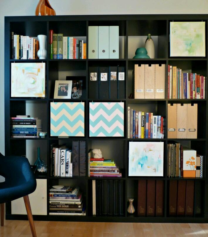 ikea bookcase 5x5 buy sale and trade ads great prices. Black Bedroom Furniture Sets. Home Design Ideas