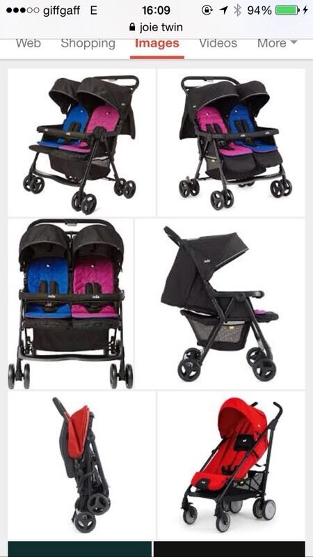 joie aire twin stroller buy sale and trade ads great prices. Black Bedroom Furniture Sets. Home Design Ideas
