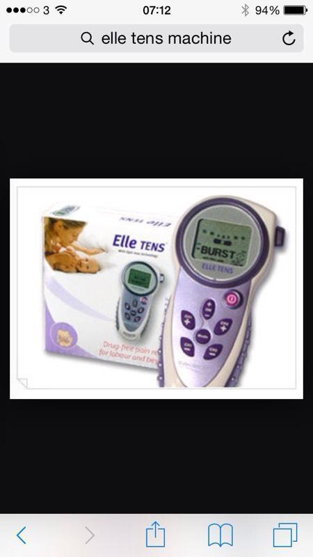 tens machine hire for back