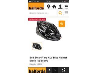 Bell solar helmet