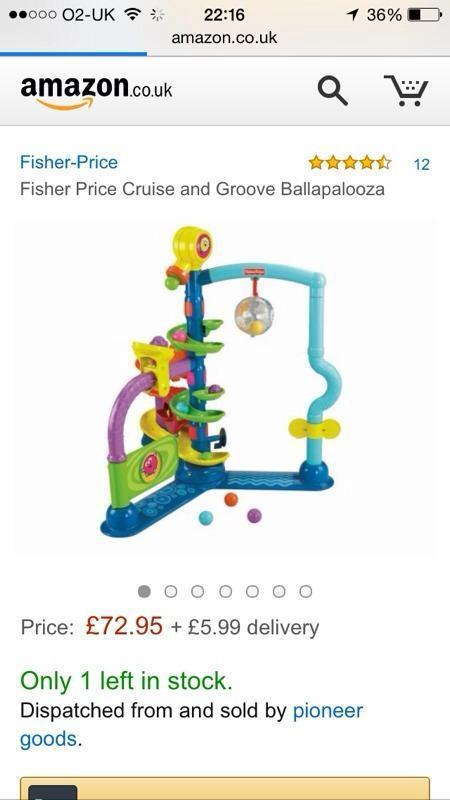 fisherprice cruise and groove ballapalooza united kingdom gumtree. Black Bedroom Furniture Sets. Home Design Ideas