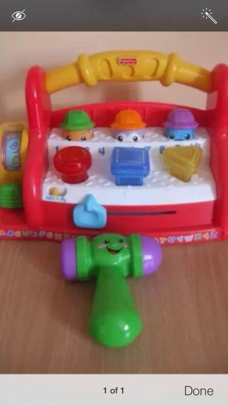 Fisher price laugh learn tool bench united kingdom gumtree Fisher price tool bench