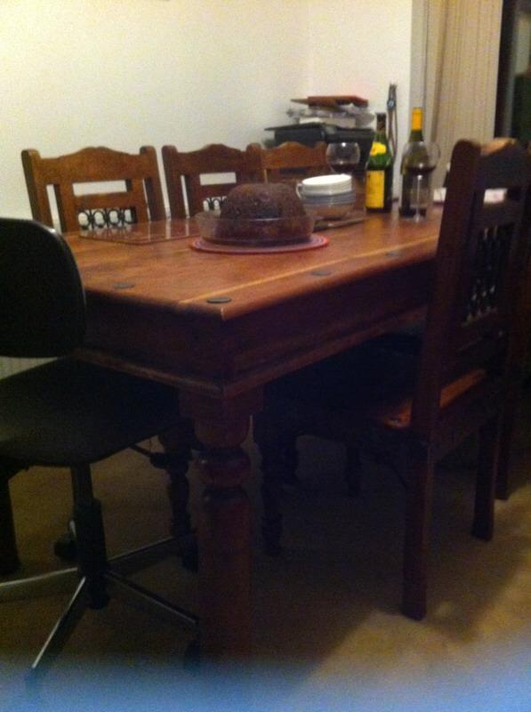 Indian rosewood dining table with 8 chairs United  : 86 from www.gumtree.com size 597 x 800 jpeg 42kB