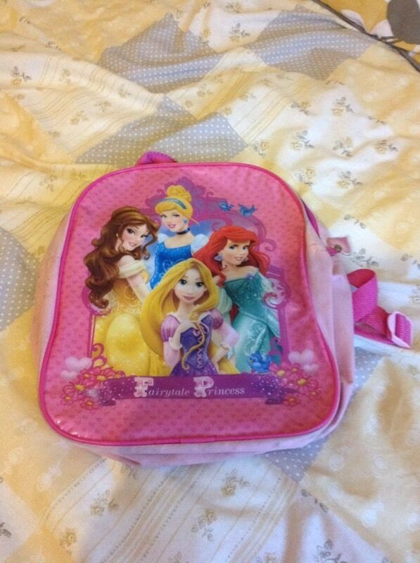 Childrens Princess Rucksack This Is Disney Princesses Rucksack In Pink In Used But Great Condition