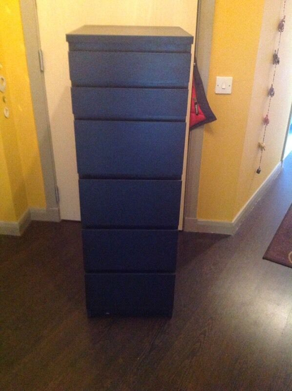 Ikea Wohnzimmer Zusammenstellen ~ IKEA malm tall boy chest of drawers Selling due to redecoration Great
