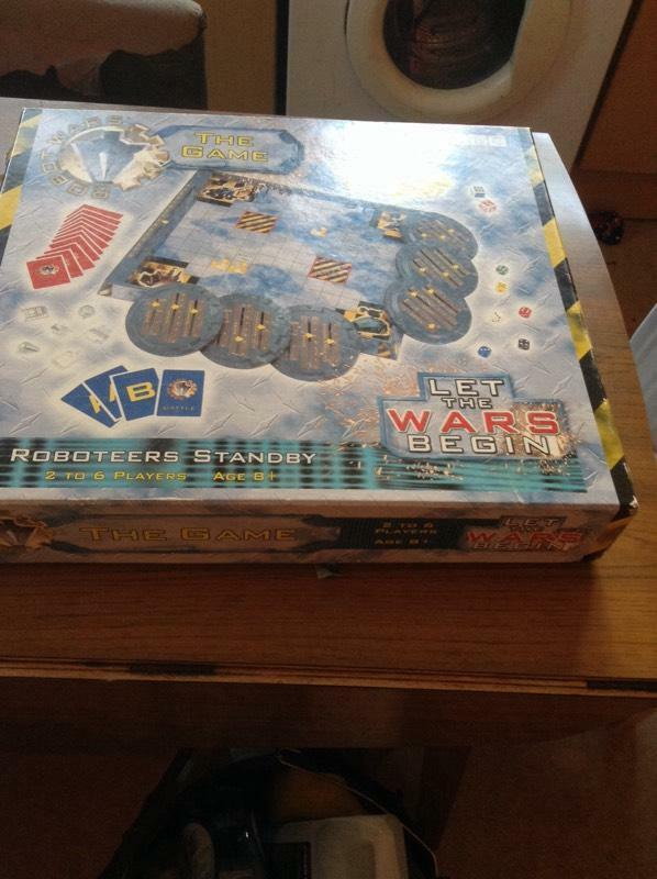 War Robot Games Robot Wars Board Game tx Only