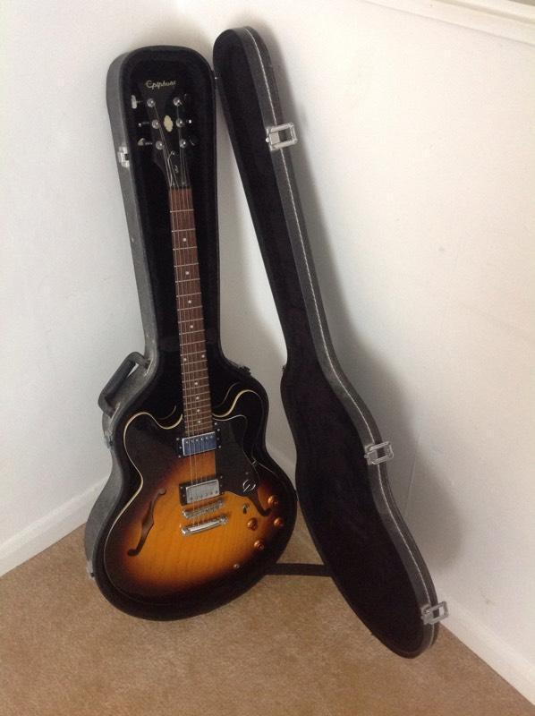 epiphone 335 case buy sale and trade ads great prices. Black Bedroom Furniture Sets. Home Design Ideas